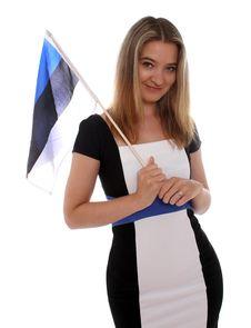 Free Happy Estonian Woman Stock Image - 20152541