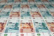 Free Russian Ruble Royalty Free Stock Image - 20153276