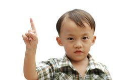 Free Young Asian Boy Royalty Free Stock Photography - 20153477