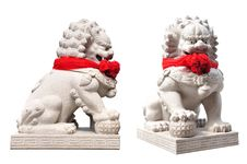 Free China Lion Statue In Temple China Royalty Free Stock Photos - 20153748