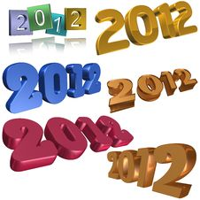 Free 2012 Symbols Stock Photos - 20153923