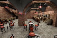 Free Wine Cellar Royalty Free Stock Photos - 20154208