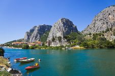 Free Town Omis In Croatia Stock Images - 20155094