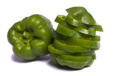 Free Green Bell Pepper Stock Image - 20155921