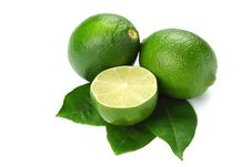 Free Limes On White Stock Images - 20156034