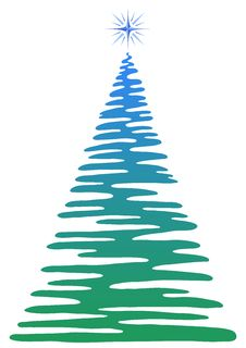 Free Christmas Fir-tree, Pictogram Stock Photography - 20156172