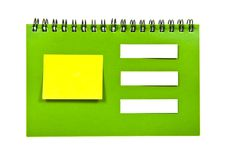 Free Note Book Royalty Free Stock Image - 20156366