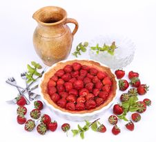Free Strawberry Tart Stock Photo - 20157120