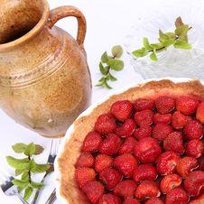 Free Strawberry Tart Stock Photography - 20157132