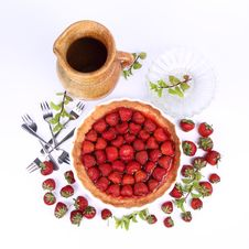 Free Strawberry Tart Stock Image - 20157141