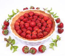 Free Strawberry Tart Royalty Free Stock Photo - 20157175