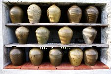 Free Urns In Shadow Royalty Free Stock Image - 20157986