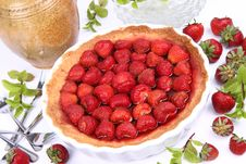 Free Strawberry Tart Royalty Free Stock Image - 20159646