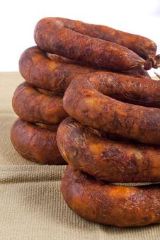 Portuguese Chorizo Stock Photos