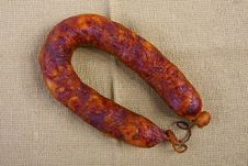 Portuguese Chorizo Royalty Free Stock Photos