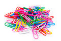 Free Colored Paper Clips Stock Photography - 20161952