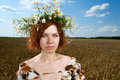 Free Woman In Wheat Field Royalty Free Stock Photography - 20164647