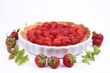 Free Strawberry Tart Royalty Free Stock Photo - 20160015