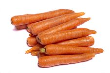 Free Bunch Of Carrots Royalty Free Stock Photos - 20160878