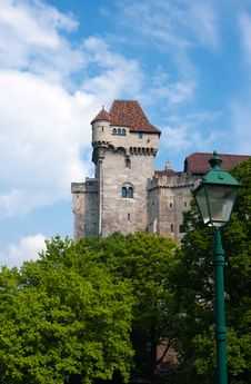 Liechtenstein Castle Royalty Free Stock Images