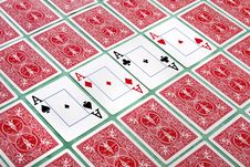 Free Bunch Of Cards Flipped Royalty Free Stock Image - 20162056