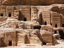 Free The Ancient City Of Petra Stock Images - 20162314