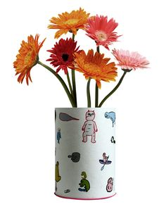Free Potted Red Daisy Stock Images - 20162714