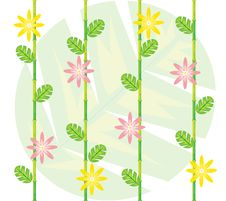 Spring Repeated Pattern Stock Photography