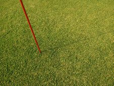 Free Sport Field Flag Pole On Grass Stock Photography - 20164792