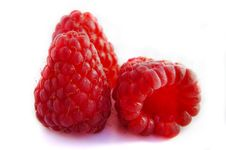Free Isolated Fruits - Raspberries Stock Photo - 20164930