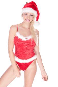 Free Sexy Santa Royalty Free Stock Photography - 20165257