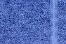 Free Blue Terry Cloth Royalty Free Stock Images - 20165669