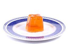 Free Orange Gelatin Royalty Free Stock Image - 20166196