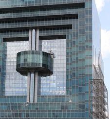 Facade Of High-tech Style Building Stock Photos