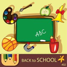 Free Colorful School Background Stock Images - 20169474