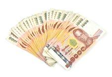 1000 Baht Banknotes Stock Photo