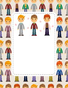 Free Young Boy Card Royalty Free Stock Images - 20169899