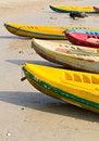 Free Old Colorful Kayaks Stock Photo - 20170530