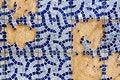Free Broken Tiled Wall Royalty Free Stock Photos - 20173398