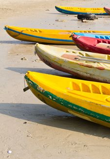 Free Old Colorful Kayaks Stock Photo - 20170530
