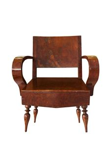 Free Old Wooden Arm Chair Royalty Free Stock Photography - 20170557