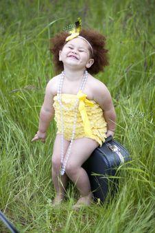 Free Cute Toddler Girl Stock Image - 20170831