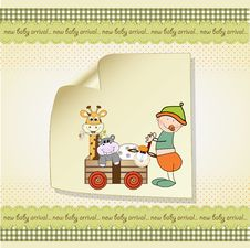Free Baby Anniversary Card Stock Images - 20171254