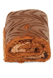 Chocolat Roulade Royalty Free Stock Images