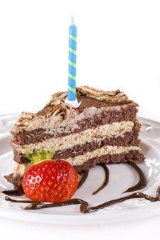 Free Birthday Tiramisu Stock Image - 20172801