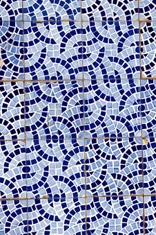 Free Broken Tiled Wall Royalty Free Stock Images - 20173449