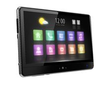 Free Digital Tablet With Touc  Screen And Icons Stock Images - 20173674