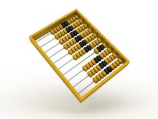 Free Mathematical Office Abacus On White Background Iso Stock Photography - 20174242