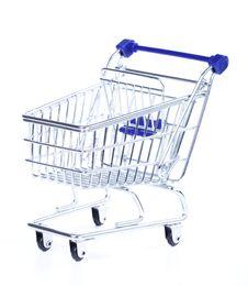 Free Shopping Cart Royalty Free Stock Photo - 20174305