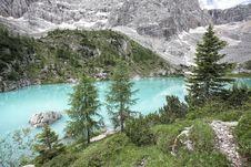 Free Lago Di Sorapiss - Unusual Color,Italian Dolomites Royalty Free Stock Photography - 20174337